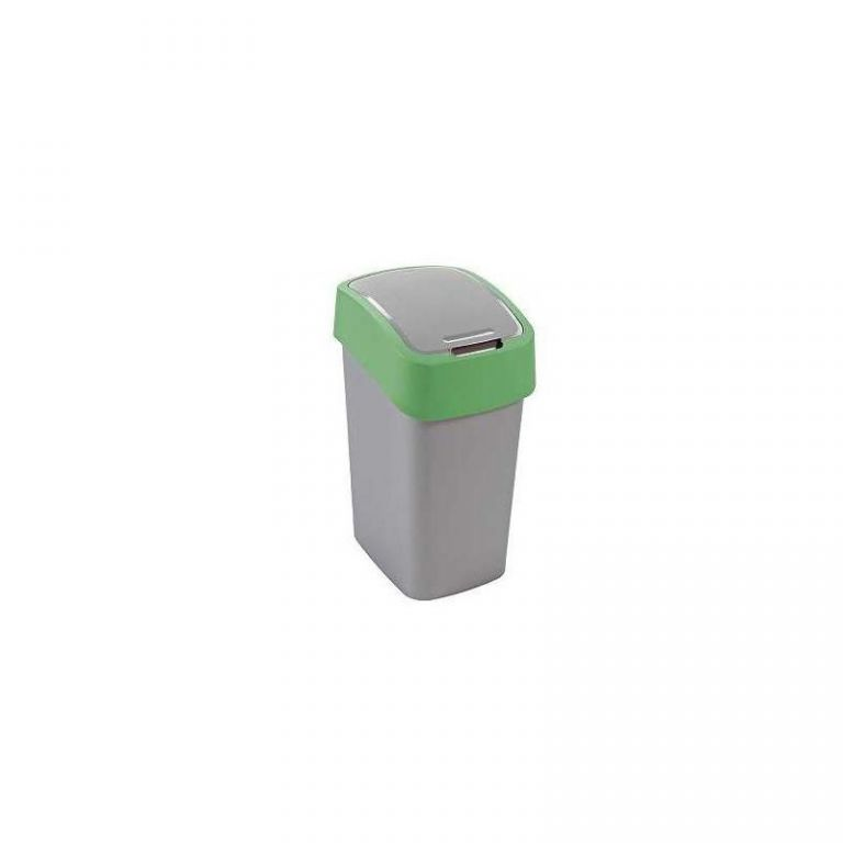 Kosz na śmieci FLIPBIN 10l - zielony KRZYWA