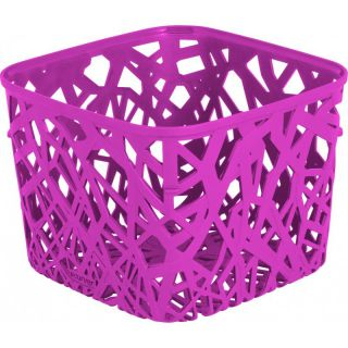 Kosz plastikowy NEO SQUARE - fioletowa CURVER