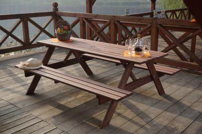 Drewniany zestaw PIKNIK  - 180CM