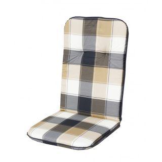 Poduszka na wysokie krzesło SCALA HOCH - kratka 10443-500