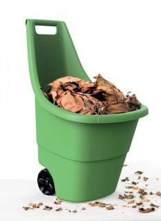 Wózek plastikowy EASY GO BREEZE 50l - zielony
