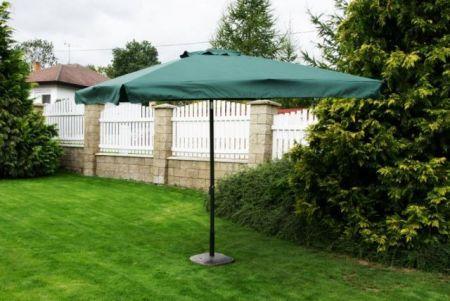 Parasol ogrodowy prostokątny zielony 270 x 270 cm