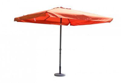 Parasol ogrodowy prostokątny terakota 270 x 270 cm