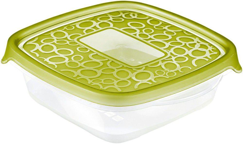 Zestaw pojemników na żywność 3x0,6L - zielony CURVER