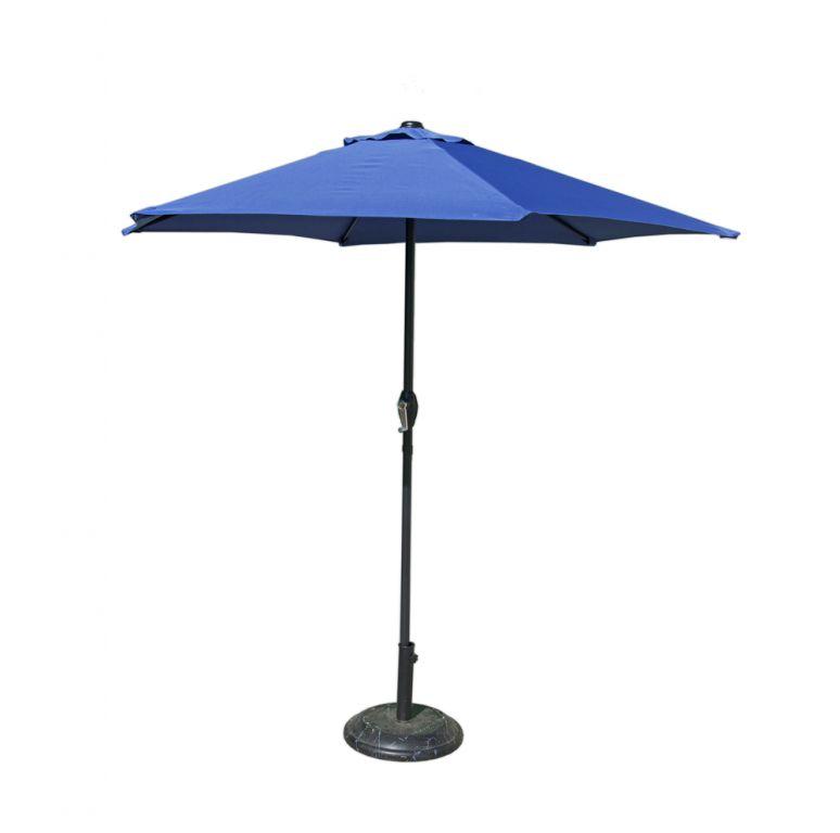 Parasol 230 cm - jasnoniebieski