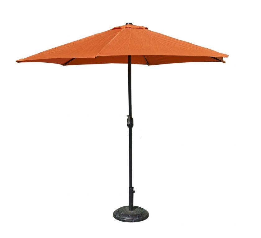 Parasol 300 cm - terracota