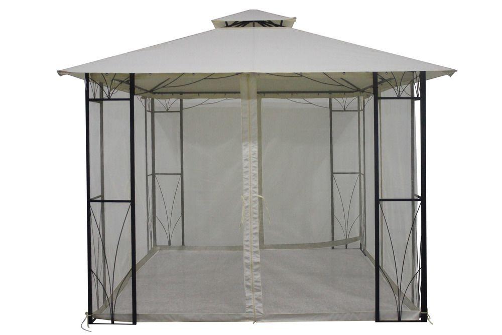 Namiot ogrodowy SULAWESI 3 x 3 m - kość słoniowa