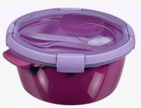 Pudełko podróżne SMART TO GO 1,6L - kolor fioletowy