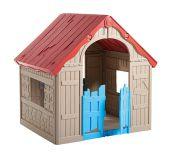 Domek dziecięcy składany PLAYHOUSE - kolor beżowy