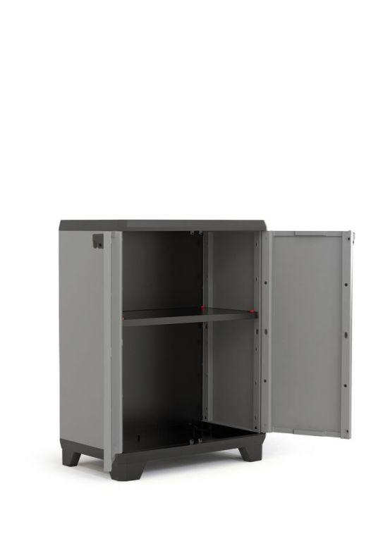 Szafka z tworzywa sztucznego STILO LOW - 90 x 68 x 39 cm