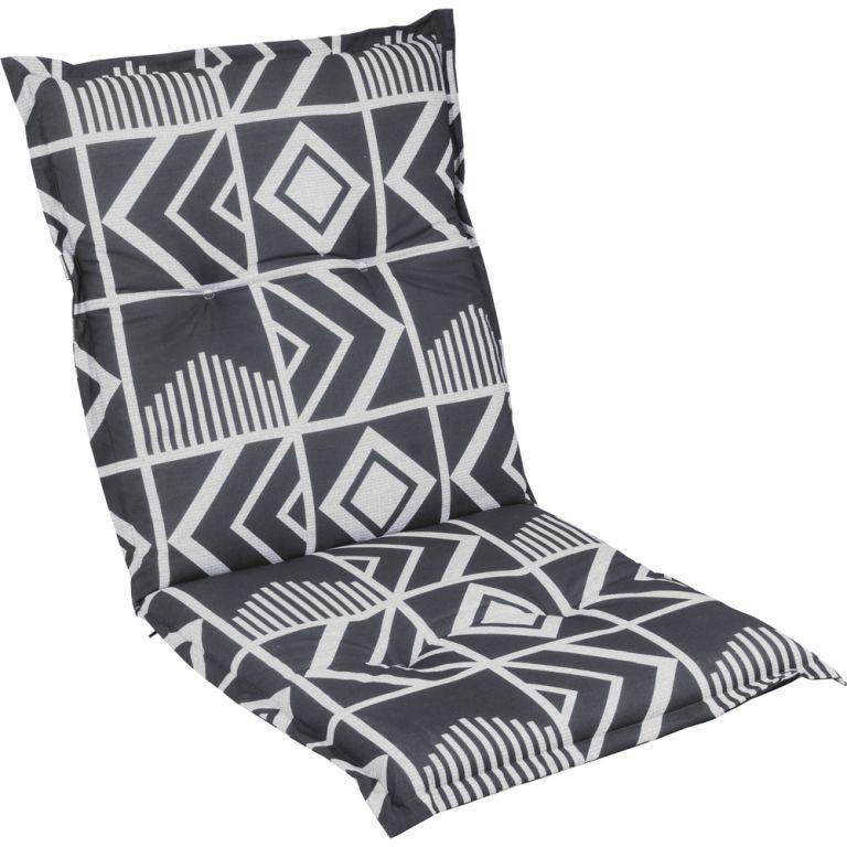 Poduszka na niskie krzesło NAXOS NIEDRIG -  abstrakt 40334-700
