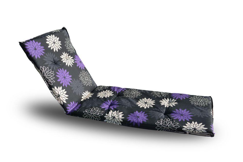 Poduszka na leżak  NAXOS LIEGE 90258-52 - kwiatki