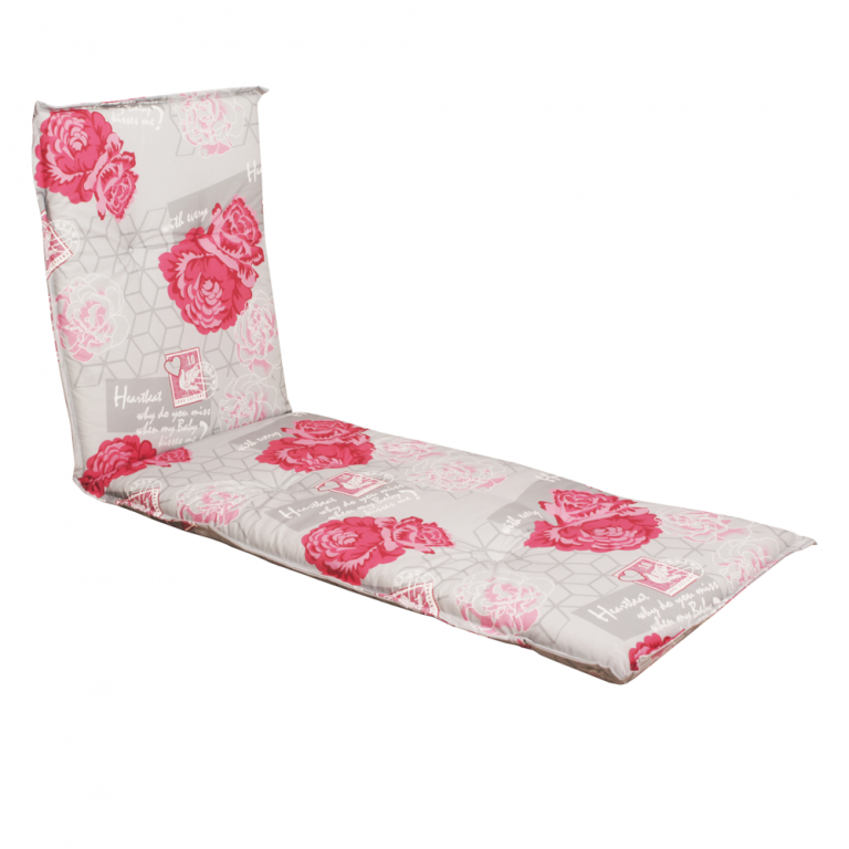 Poduszka na leżak NAXOS LIEGE kwiaty 30367-340