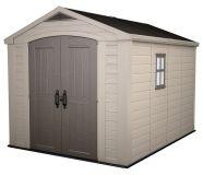 Domek ogrodowy FACTOR 8x11 - 2,4 x 2,5 x 3,3 m