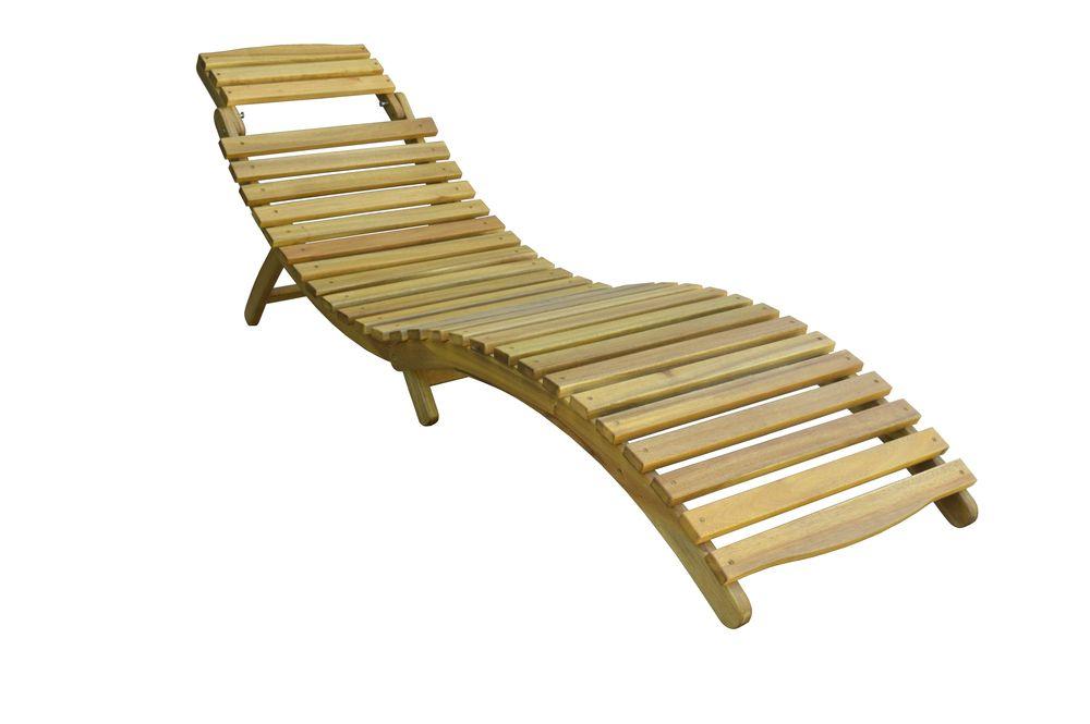 Ogrodowe drewniane krzesło MEGGIE
