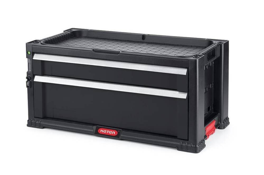 Skrzynka narzędziowa KETER - 2 szuflady