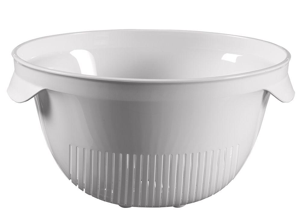 Sitko plastikowe ESSENTIALS okrągłe - szare