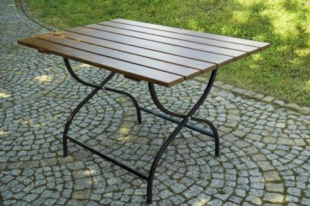 Drewniany składany stół ogrodowy WEEKEND FSC
