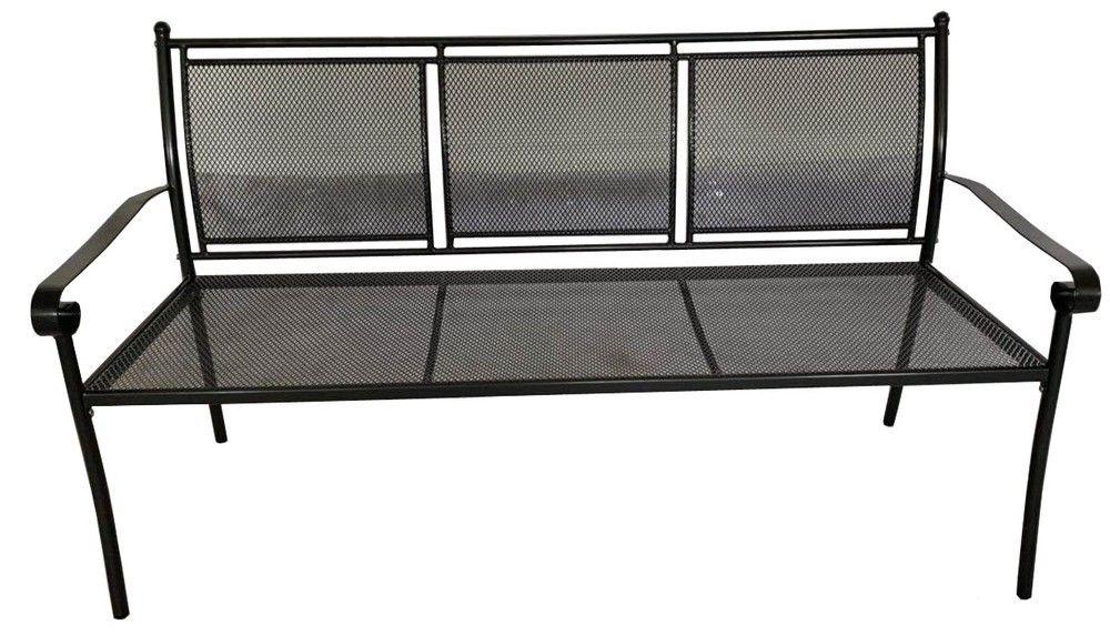 Metalowa ławka ogrodowa Keter - 162 x 90 x 60 cm