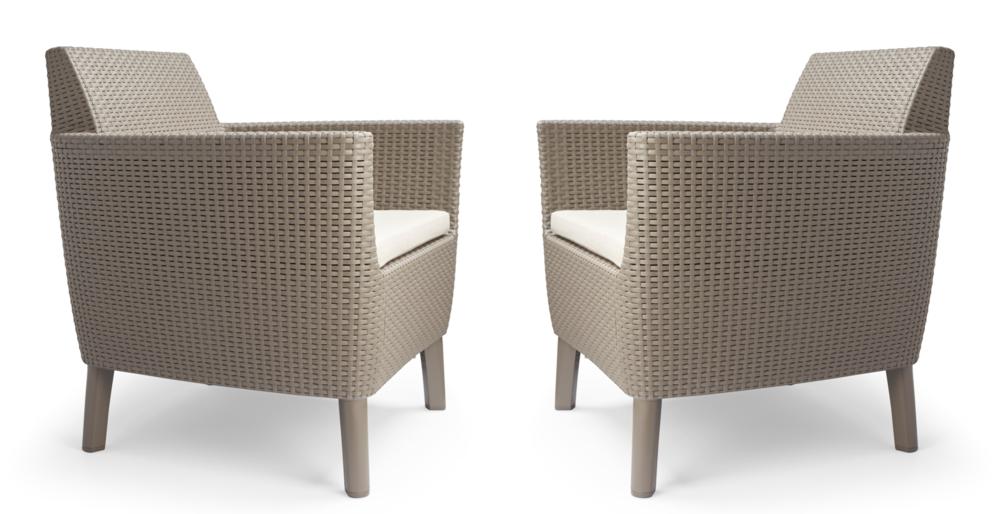 Fotel SALEMO DUO - cappuccino